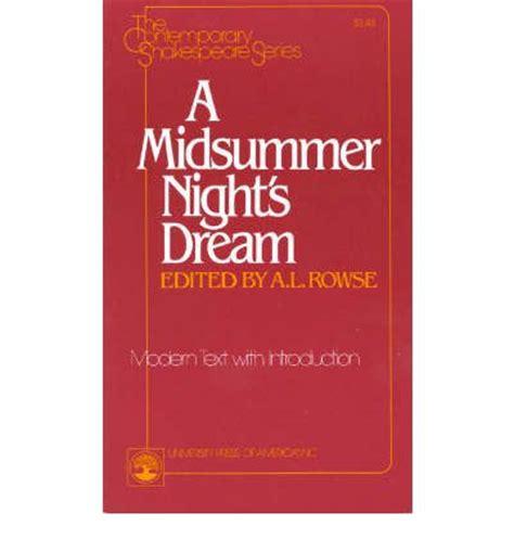 A Midsummer Night s Dream Summary GradeSaver